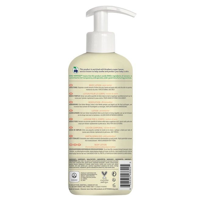 Baby Leaves - Body Lotion - Perennectar - 473ml