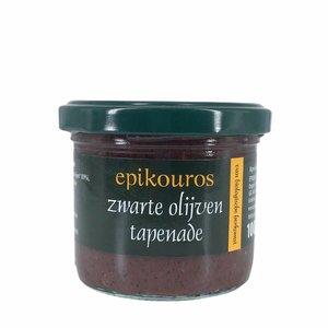 Epikouros Zwarte olijven tapenade 100g - BIO