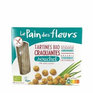 Le Pain des Fleurs Rijst & Tijgernoten Crackers - 150gr -BIO