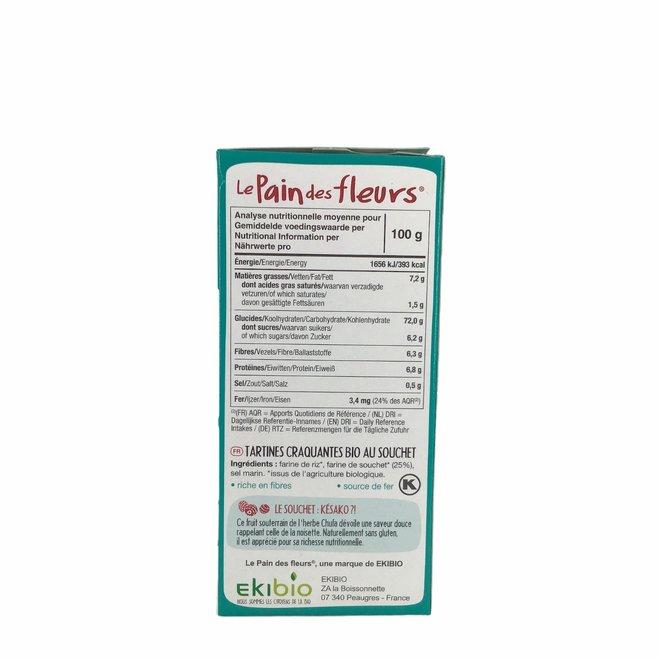 Rijst & Tijgernoten Crackers - 150gr -BIO