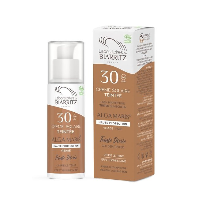 Getinte Zonnebrandcrème Gezicht - SPF30 - 50ml