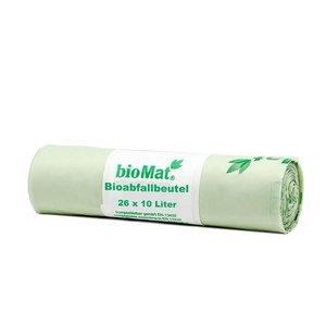 bioMat Composteerbare Afvalzak 10L - 26 stuks