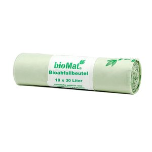 bioMat Composteerbare Afvalzak 30L - 10 stuks