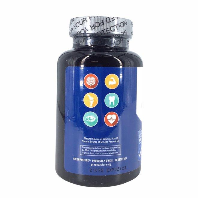 Gefermenteerde Levertraan - 120 capsules