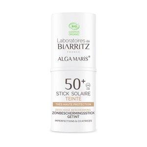 Alga Maris® Getinte Zonnebrand Stick gezicht - SPF50+ - 9ml