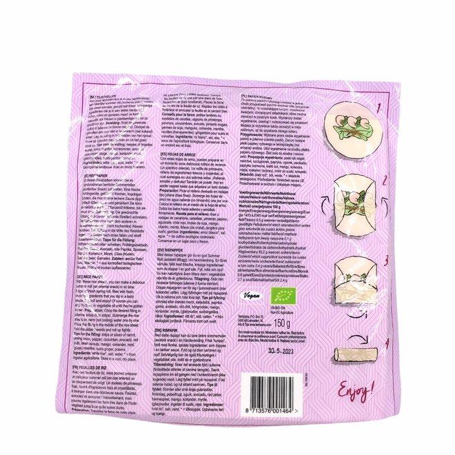 Rijstvellen Glutenvrij - 15 stuks - BIO