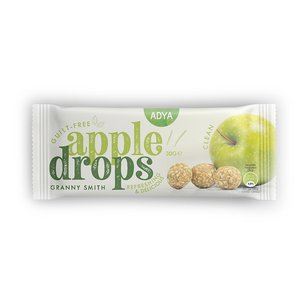 Adya Apple Drops - Granny Smith - 3 st - 30g - BIO