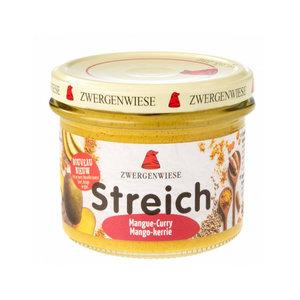 Zwergenwiese Mango-Kerrie Spread - 180g - BIO