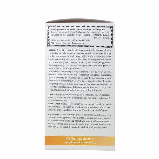 Vitamine D3 - 120 tabletten