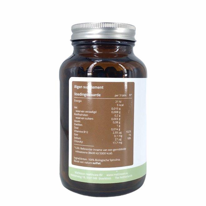 Spirulina - Arthrospira platensis - (240 tabletten) 500mg - BIO