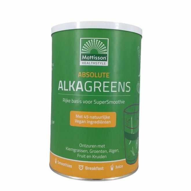 Absolute AlkaGreens  Supersmoothie Poeder - 300g