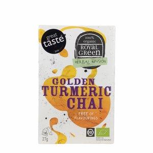Royal Green Thee - Golden Turmeric Chai - BIO