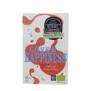 Royal Green Thee - Love & Happiness - BIO