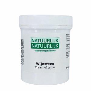 NatuurlijkNatuurlijk Wijnsteen Cream of Tartar - 200g