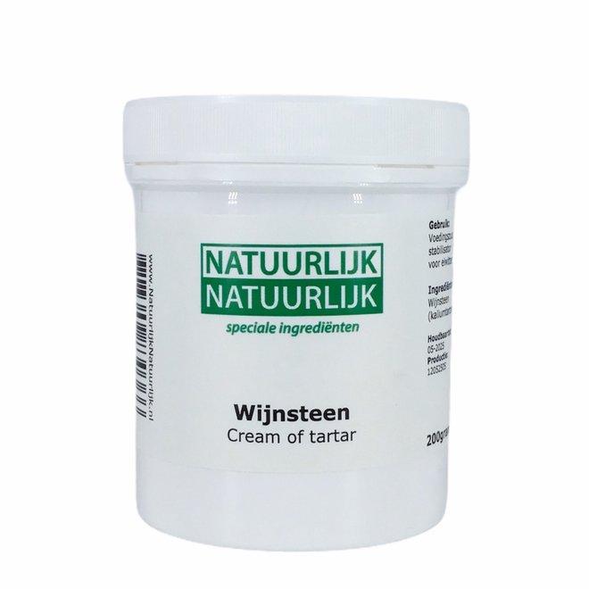 Wijnsteen Cream of Tartar - 200g