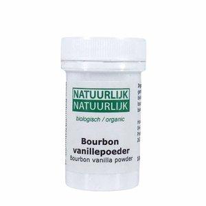 NatuurlijkNatuurlijk Bourbon Vanillepoeder - 10g - BIO