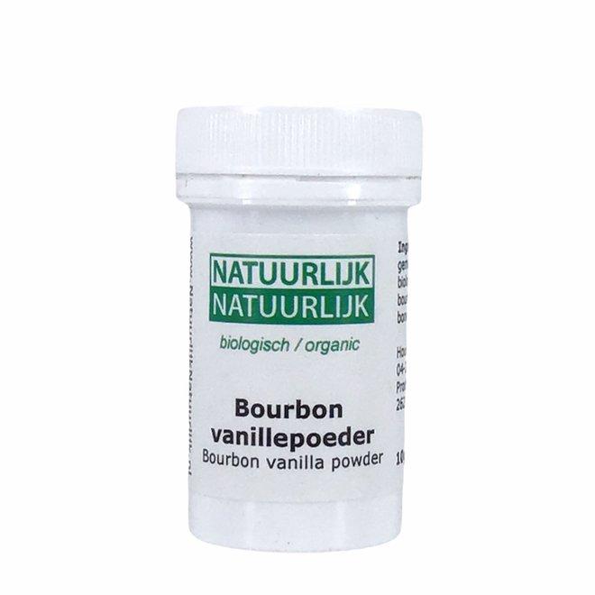 Bourbon Vanillepoeder - 10g - BIO