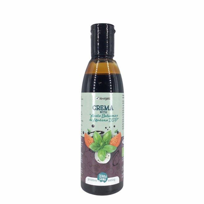 Zoetzure Creme met Balsamico azijn - 250ml - BIO