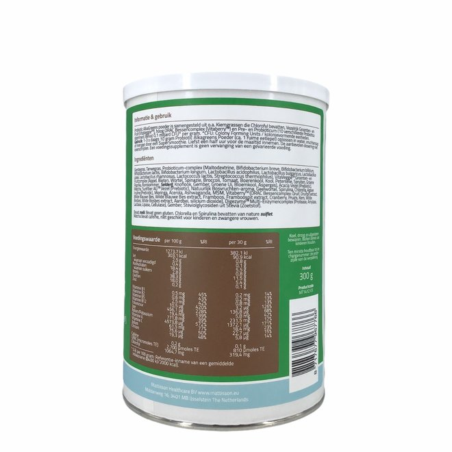 Absolute AlkaGreens Probiotic Poeder - 300g