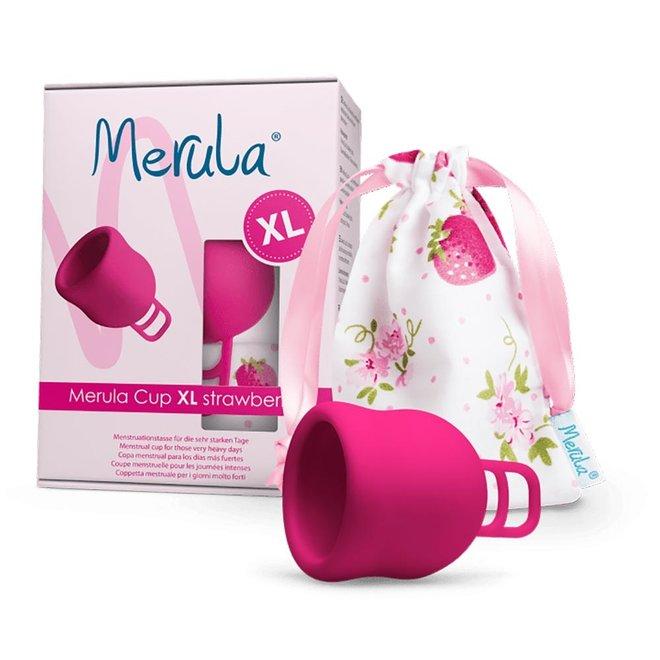 Menstruatiecup Strawberry - Roze - XL - 1st