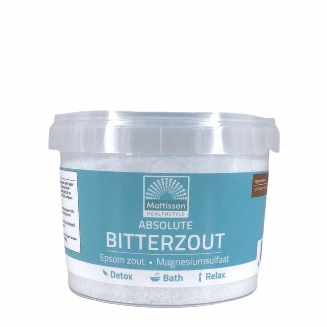 Mattisson Bitterzout – Epsom Zout (magnesiumsulfaat) - 275gr