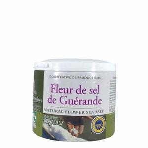 Le Guèrandais Fleur de sel Natural Flower Sea Salt - Strooibus - 140g