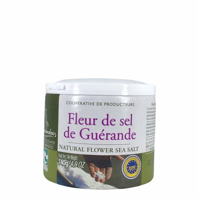 Fleur de sel Natural Flower Sea Salt - Strooibus - 140g