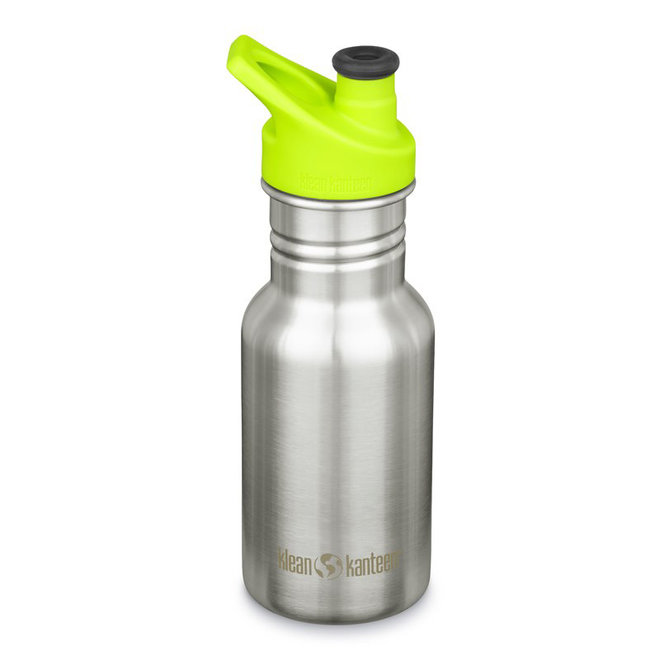 RVS Drinkfles Kind - Brushed Stainless Steel - 355ml