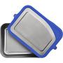 RVS Broodtrommel Groot - Blueberry Bliss - 1005ml