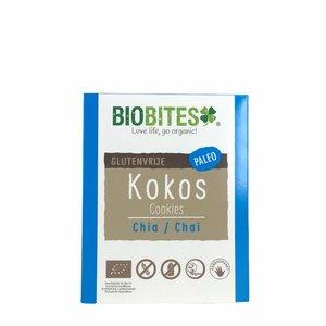 Biobites Chia Chai Kokoskoekjes - 65g - BIO