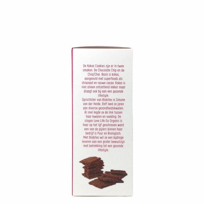Chocolate Chip Kokoskoekjes - 65g - BIO