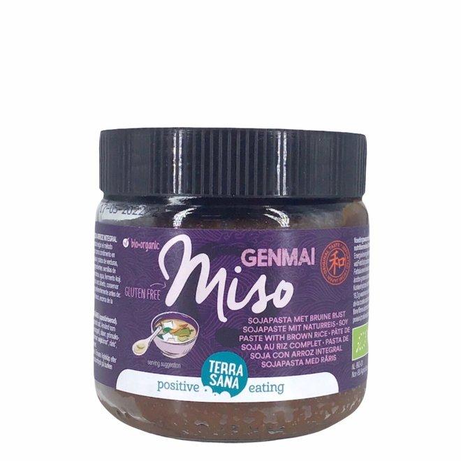 Genmai Miso - Sojapasta met bruine rijst 350g - BIO