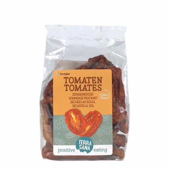 Raw Tomaten Zongedroogd Met Zout 100gr - BIO