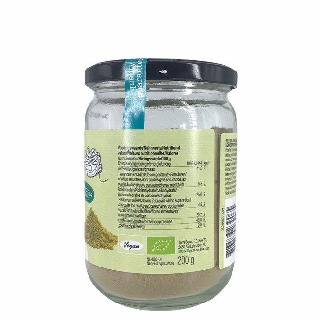 Bio Hennep Proteinepoeder in Glas 200g