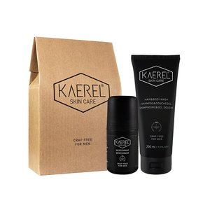 Kaerel Skin Care Gift Set Voor Mannen - Starter