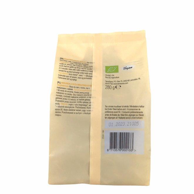 Ramen bruine rijstnoodles - 280g - BIO