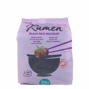Terrasana Ramen zwarte rijstnoodles - 280g - BIO