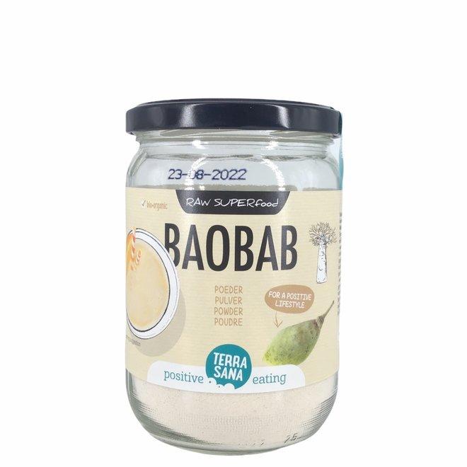 RAW Baobab Poeder (in glas) 190g - BIO