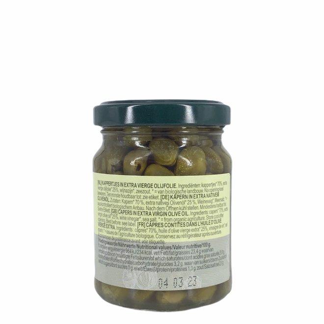 Kappertjes in extra vierge olijfolie - 120g
