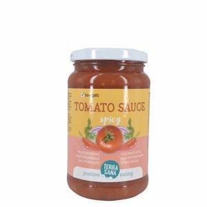 Terrasana Tomatensaus pikant - 340g - BIO