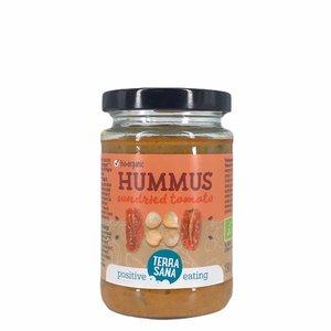 Terrasana Hummus Spread met Zongedroogde Tomaten - BIO