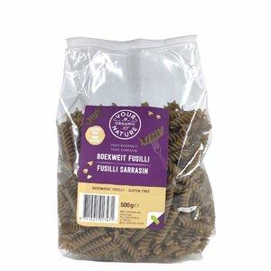 Your Organic Nature Boekweit Pasta Fusilli 500g - BIO