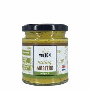 van TON Honing Mosterd Saus 170g - BIO
