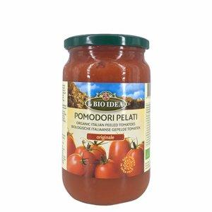 La Bio Idea Tomaten gepeld (glas) 660g-BIO