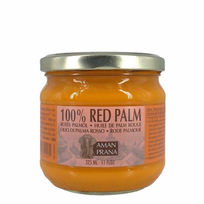 100% Rode Palmolie - 325ml - BIO