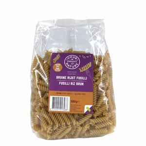 Your Organic Nature Bruine Rijst Pasta Fusilli 500g - BIO