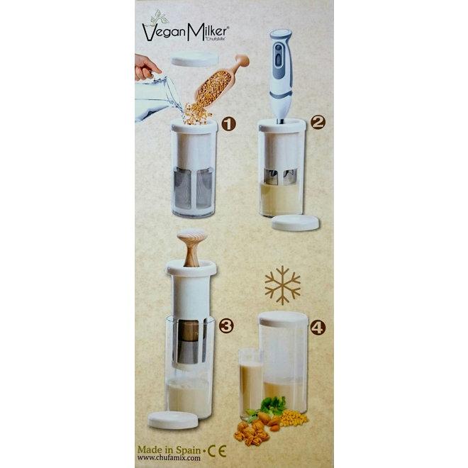 Vegan Milker - Notendrink-Maker - Glas