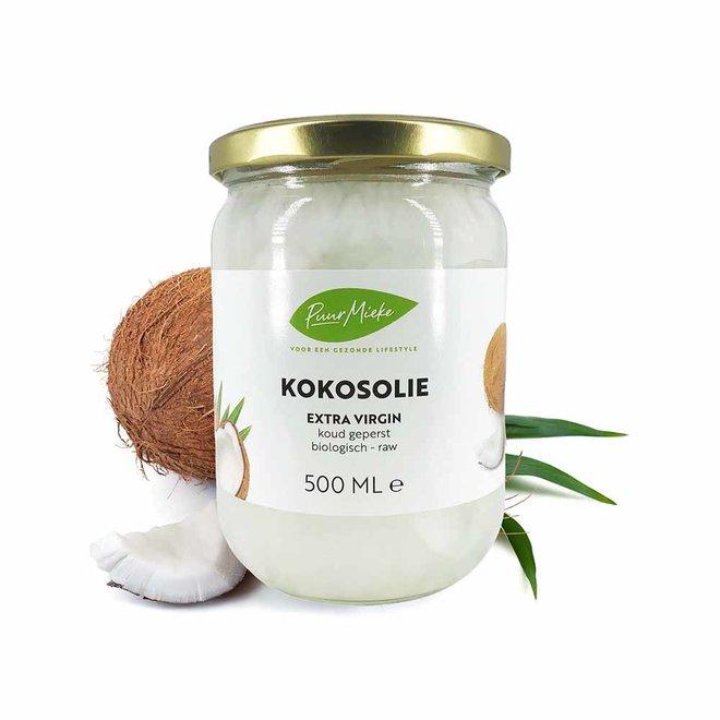 Kokosolie Extra Virgin koud geperst 500ml – BIO