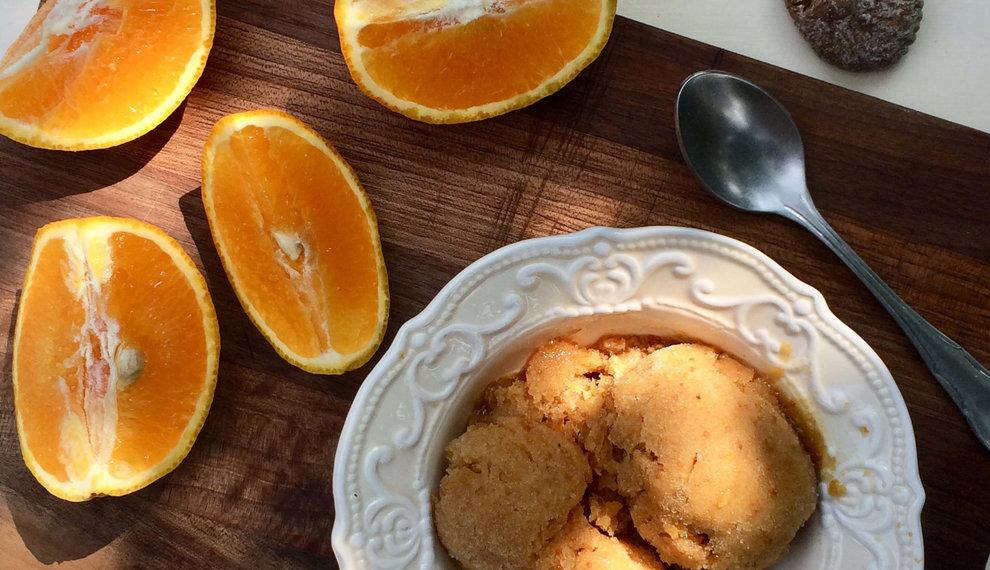 Vijgen-sinaasappelijs
