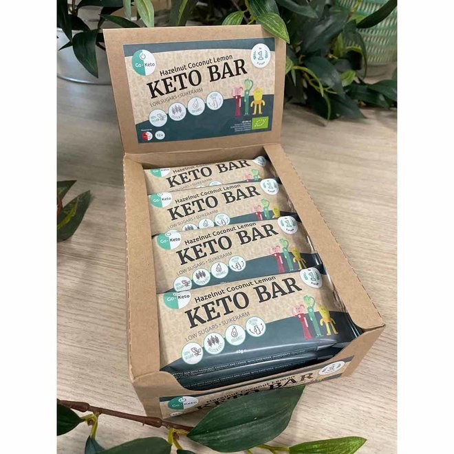 Keto Bar - Hazelnut Coconut Lemon - 40g - BIO